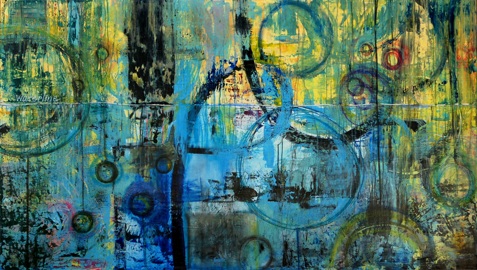 Art For Large Wall Spaces Part - 40: Oversized, Extra Large Contemporary Abstract Art, Modern Urban Industrial  Loft Painting, Graffiti,