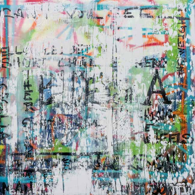 Large Contemporary Graffiti Painting Original Abstract Urban Art Industrial-PANDORASBOX13.17.03 Laura Letchinger q30p650-17