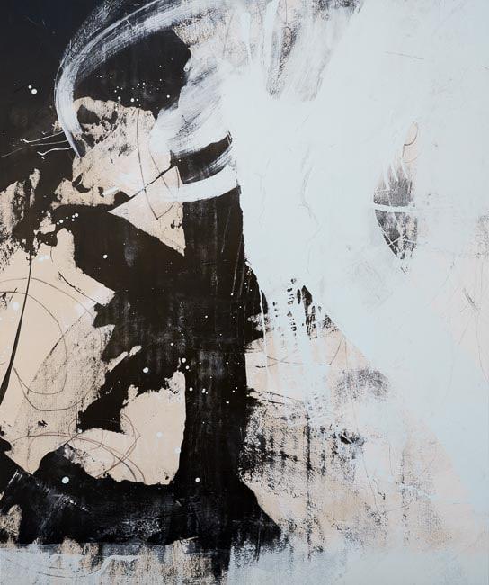 Modern Loft Wall Art On Canvas With A Street Graffiti Edge