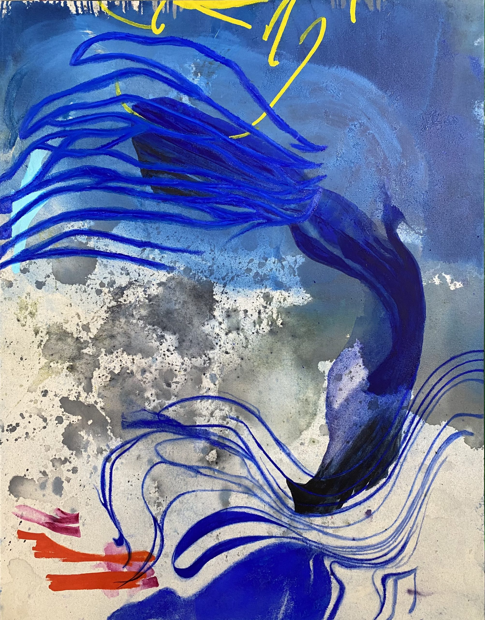 Contemporary-Abstract-Painting-Modern-Graffiti-Street-Art-Urban-Industrial-Blue-Wall-Laura-Letchinger_FLOW