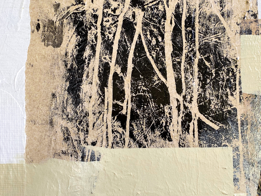 modern contemporary abstract painting urban street edge Laura Letchinger Los Angeles artist HIKE