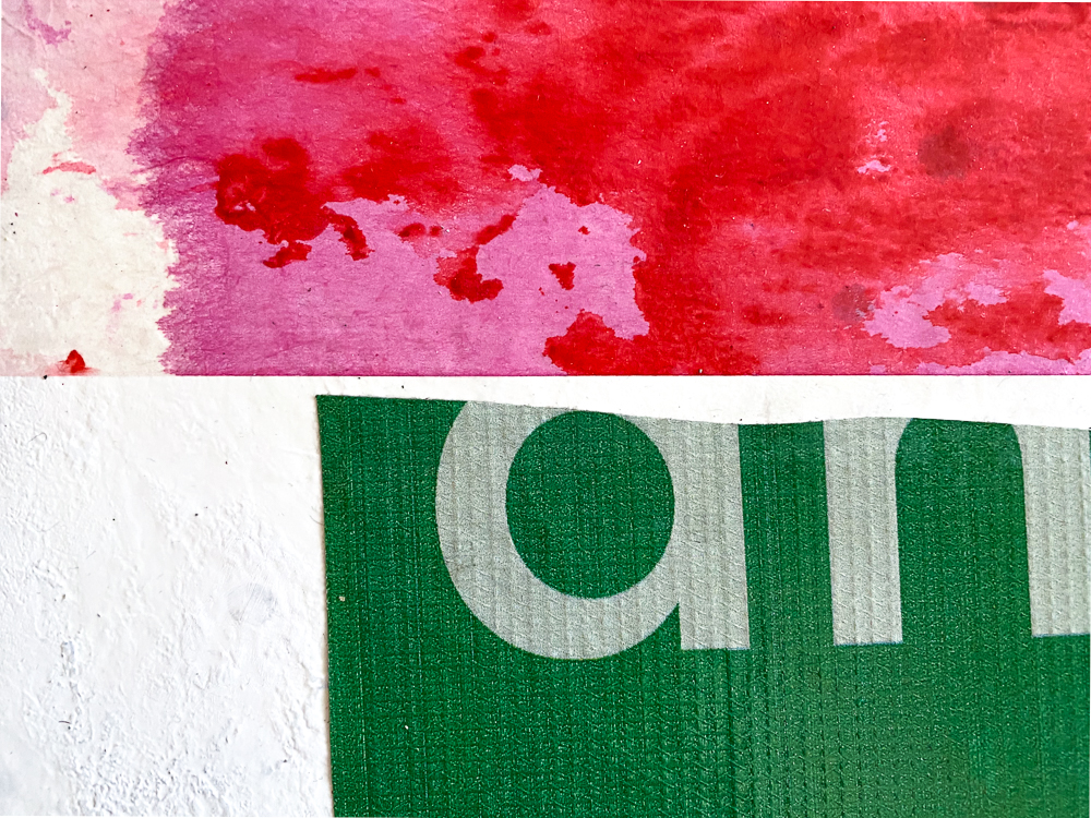 colorful contemporary abstract art urban street edge Laura Letchinger Los Angeles artist detail2