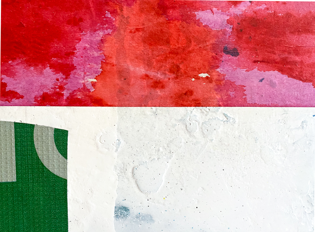 colorful contemporary abstract art urban street edge Laura Letchinger Los Angeles artist detail5